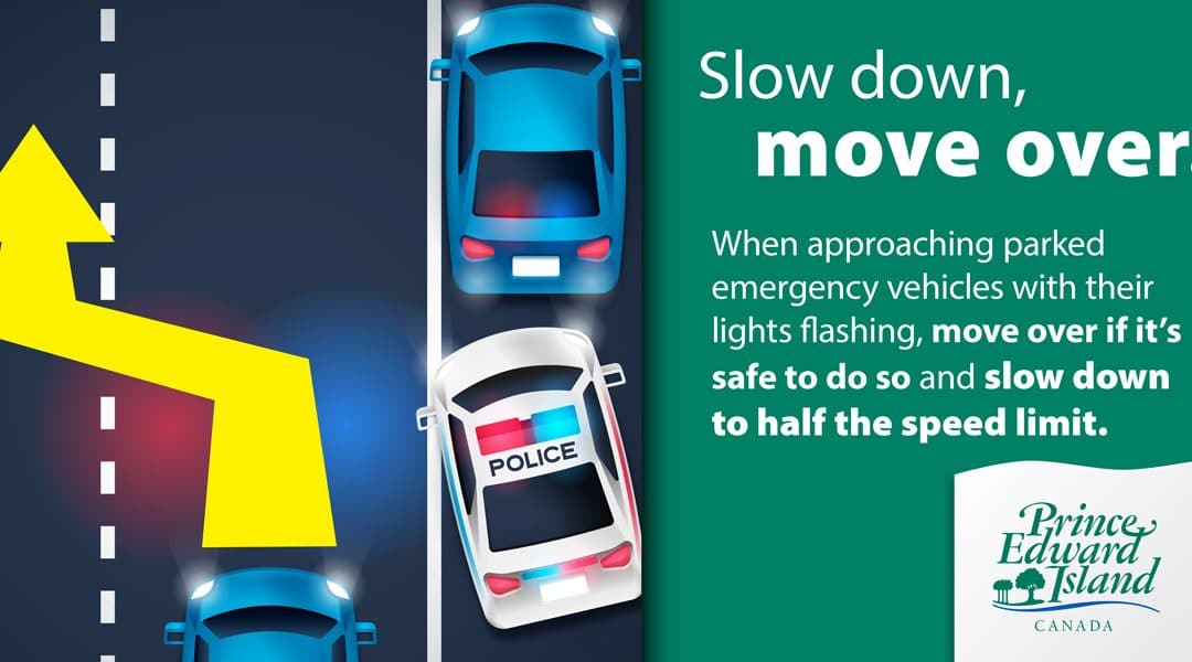 Slow down, move over.