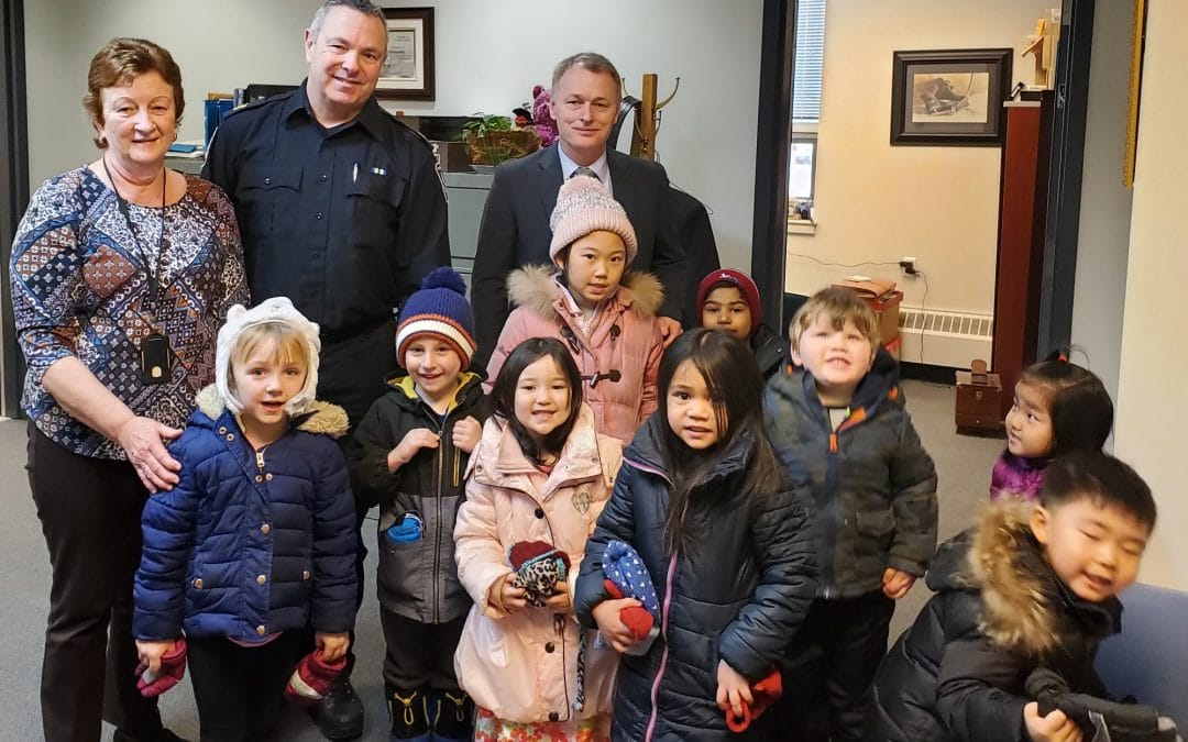 Preschool Kids visits Charlottetown Police Services
