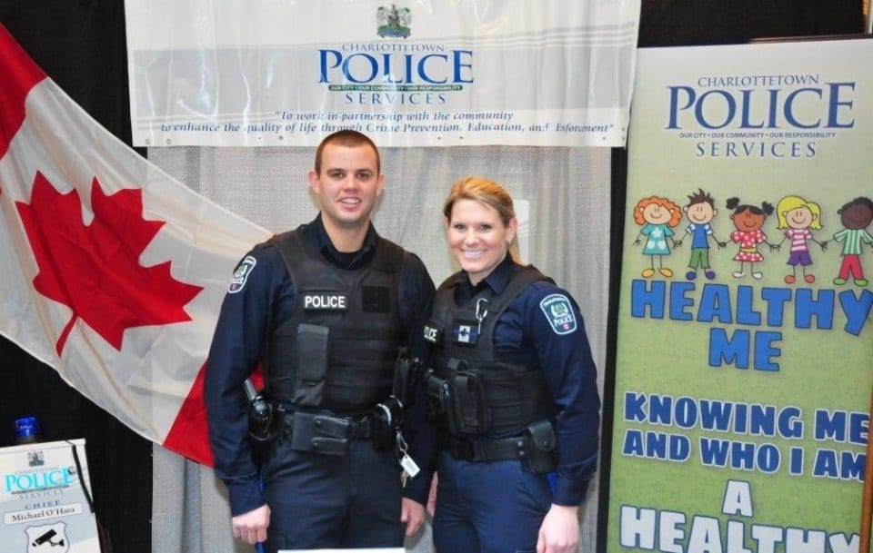 Charlottetown Police Participate in PEI Home Show