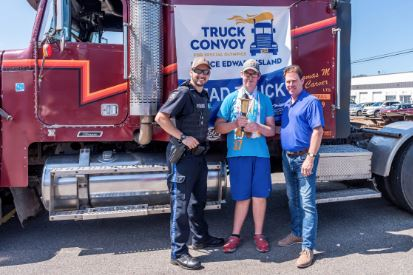 CPS participates in Special Olympics Truck Convoy