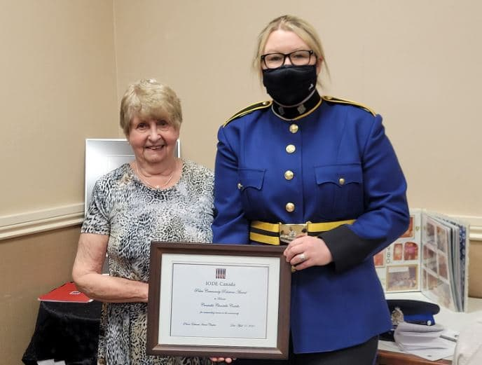 Cst Chantelle Costello Receives Police Community Relations Award