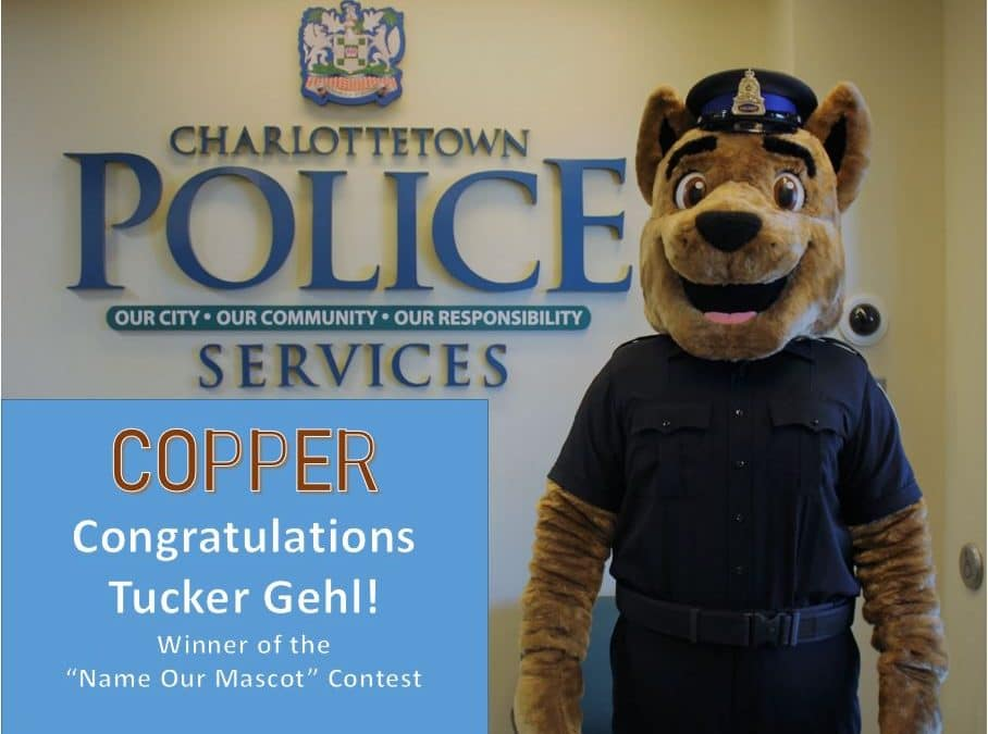 """""""Name Our Mascot"""" Winner – Congratulations to Tucker Gehl"""